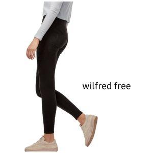 Aritzia WILFRED FREE Faux Suede Daria Pants
